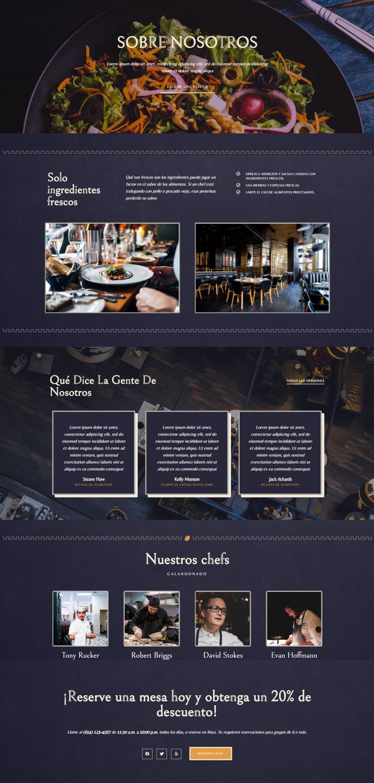 bluetec-restaurante